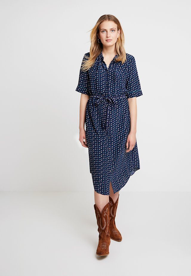 AIR MOSS - Vestido informal - blue