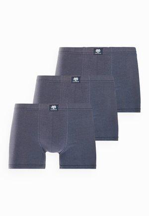 3 PACK - Boxerky - blue dark solid