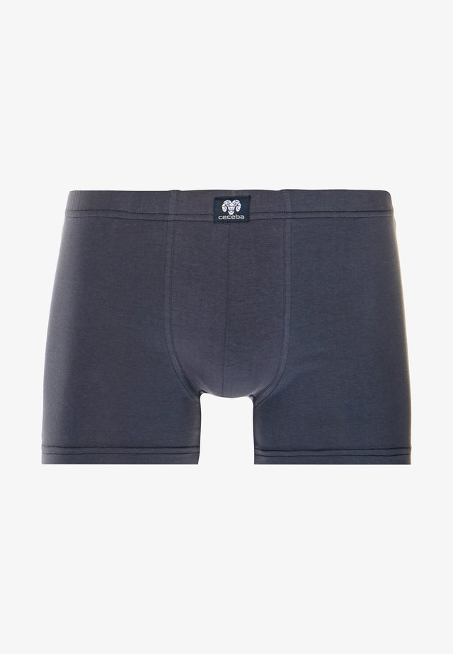 3 PACK - Boxerky - blue dark solid