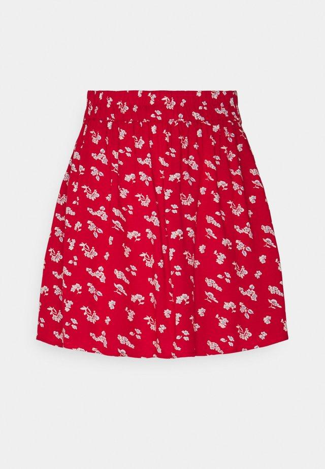 PCNYA SKIRT - Mini skirt - goji berry