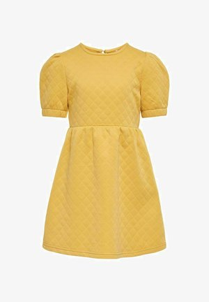 Day dress - cornsilk