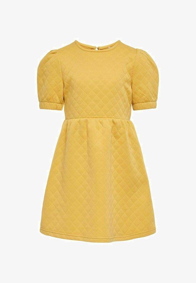 Korte jurk - cornsilk