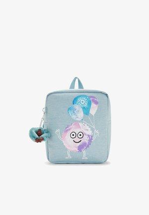 Backpack - aqua confetti