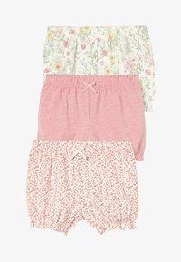 Next - 3 PACK - Shorts - pink - 0