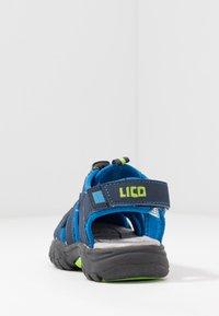 LICO - NIMBO - Vaellussandaalit - blau/lemon - 3