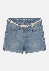 Staccato - TEENAGER - Denim shorts - light blue denim - 0