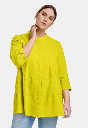 3/4 ARM  - Button-down blouse - citronella