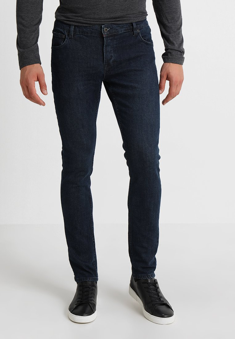 Solid - JOY  - Slim fit jeans - blue denim