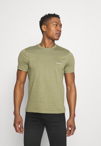 CHEST LOGO - T-shirt - bas - green
