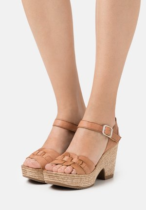 MESHA - High heeled sandals - tierra