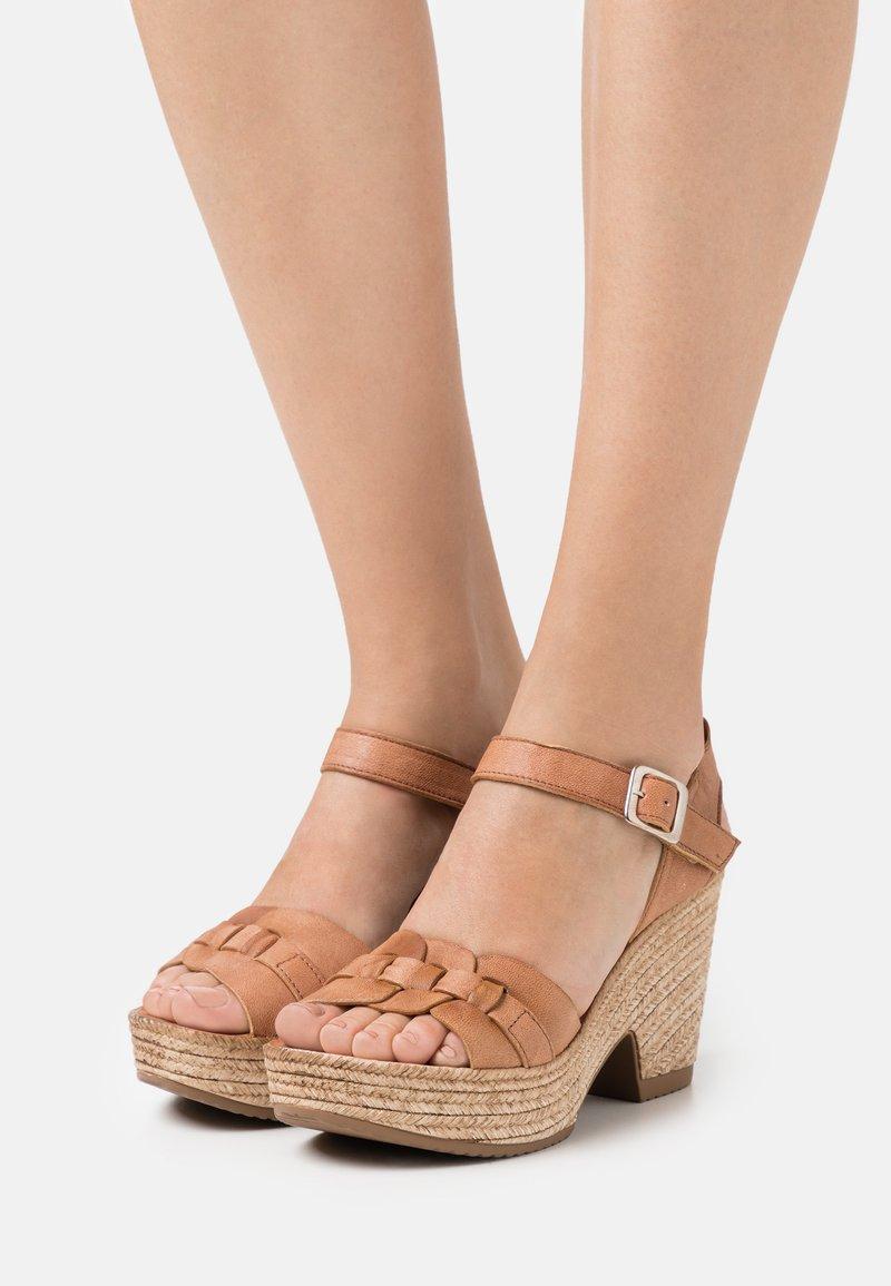 Felmini - MESHA - High heeled sandals - tierra