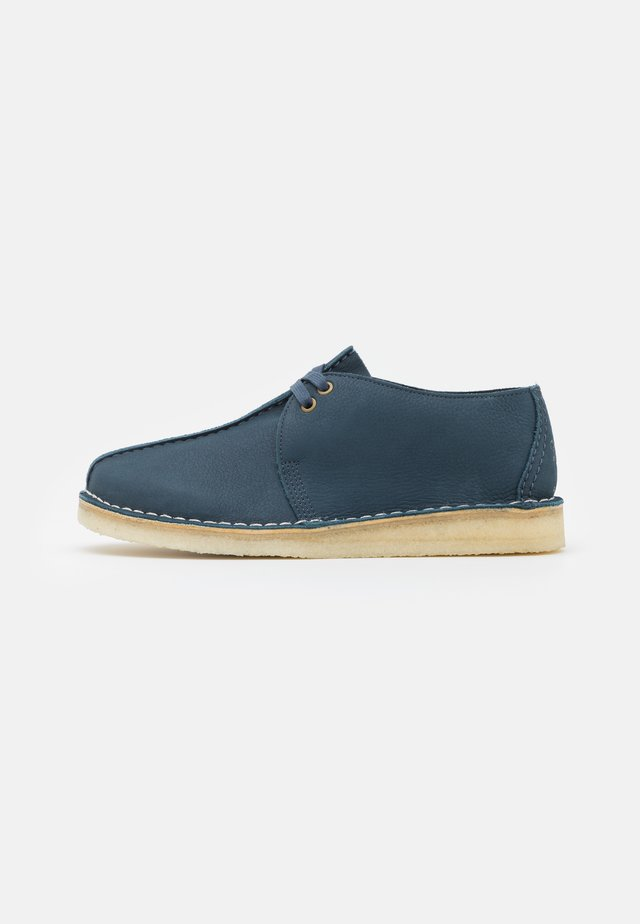 DESERT TREK - Casual lace-ups - blue