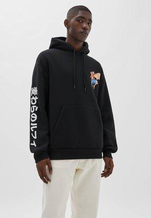 ONE PIECE - Bluza z kapturem - black