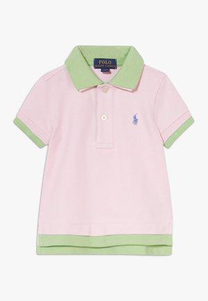 LAYERED - Polo - carmel pink