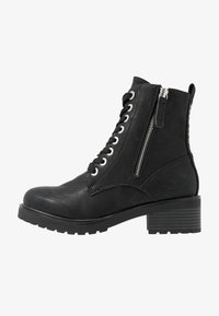 TOM TAILOR - Lace-up ankle boots - black - 1