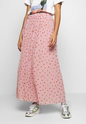 VIYRSA MAXI SKIRT - Pliceret nederdel /Nederdele med folder - pale mauve/dusty cedar