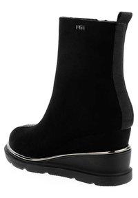 PRIMA MODA - SARENTINO - Wedge Ankle Boots - black - 2