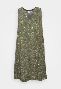GAP - ZEN DRESS - Robe d'été - olive - 3