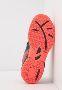 Head - SPRINT 3.0 KIDS - Tenisové boty na všechny povrchy - midnight navy/neon red - 5