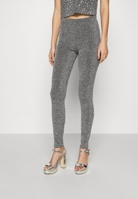 ONLY - ONLDONNA - Leggings - Trousers - dark grey - 0