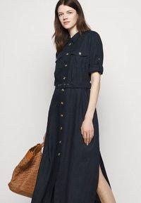 Marella - PENNY - Košilové šaty - blu - 4