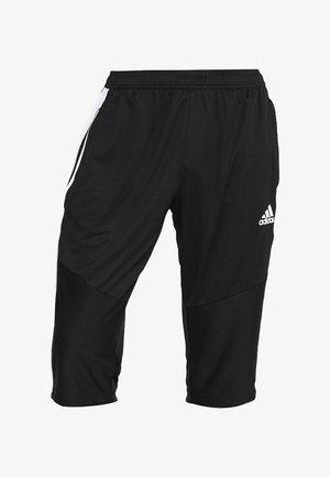 TIRO - 3/4 sports trousers - black/white