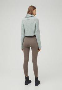 PULL&BEAR - Leggings - grey - 2