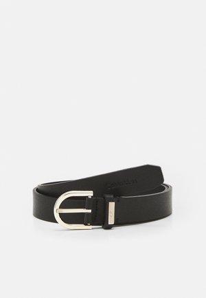 ROUND BELT - Belt - black