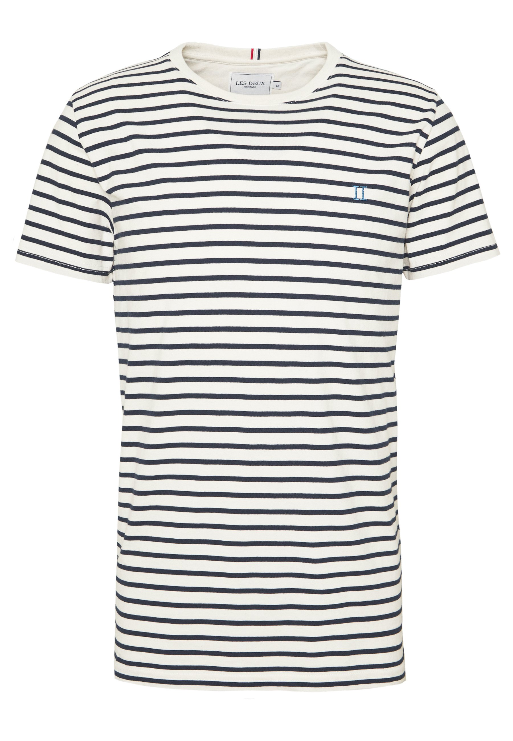 Les Deux Sailor - T-shirt Print Navy/blue Fog/off-white