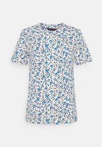 Marks & Spencer London - STRAIGHT TEE - Print T-shirt - blue - 0