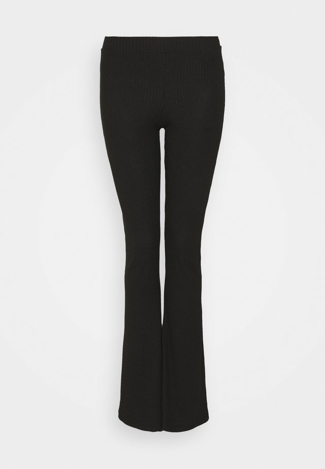 ONLNELLA FLARED PANT - Trousers - black