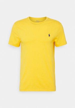 CUSTOM SLIM FIT CREWNECK - T-Shirt basic - gold bugle