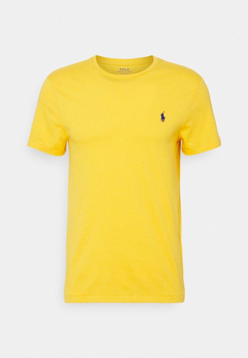 Polo Ralph Lauren - CUSTOM SLIM FIT JERSEY CREWNECK T-SHIRT - Basic T-shirt - gold bugle