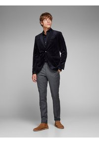 Jack & Jones PREMIUM - Suit trousers - dark grey - 1