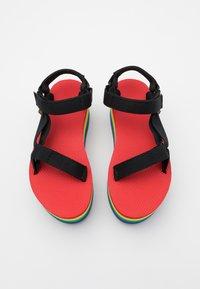Teva - FLATFORM UNIVERSAL - Chodecké sandály - rainbow/black - 3