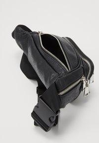 Topshop - TUMBLED BUMBAG - Bum bag - black - 4