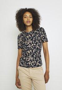 Vero Moda - VMHAILEY - Print T-shirt - navy blazer - 0