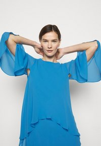 Lauren Ralph Lauren - CLASSIC DRESS - Koktejlové šaty/ šaty na párty - captain blue - 4