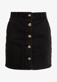 Even&Odd - Denim skirt - black - 4