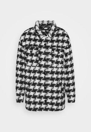 WINONA SHACKET - Płaszcz wełniany /Płaszcz klasyczny - black/white