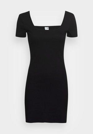 CLASSICS SQUARE NECK DRESS - Jerseyjurk - puma black