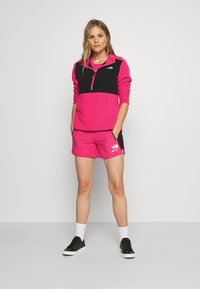 The North Face - WOMENS BLOCKED - Fleece trui - pink/black - 1