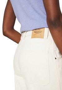 American Vintage - TINEBOROW - Straight leg jeans - ecru - 5