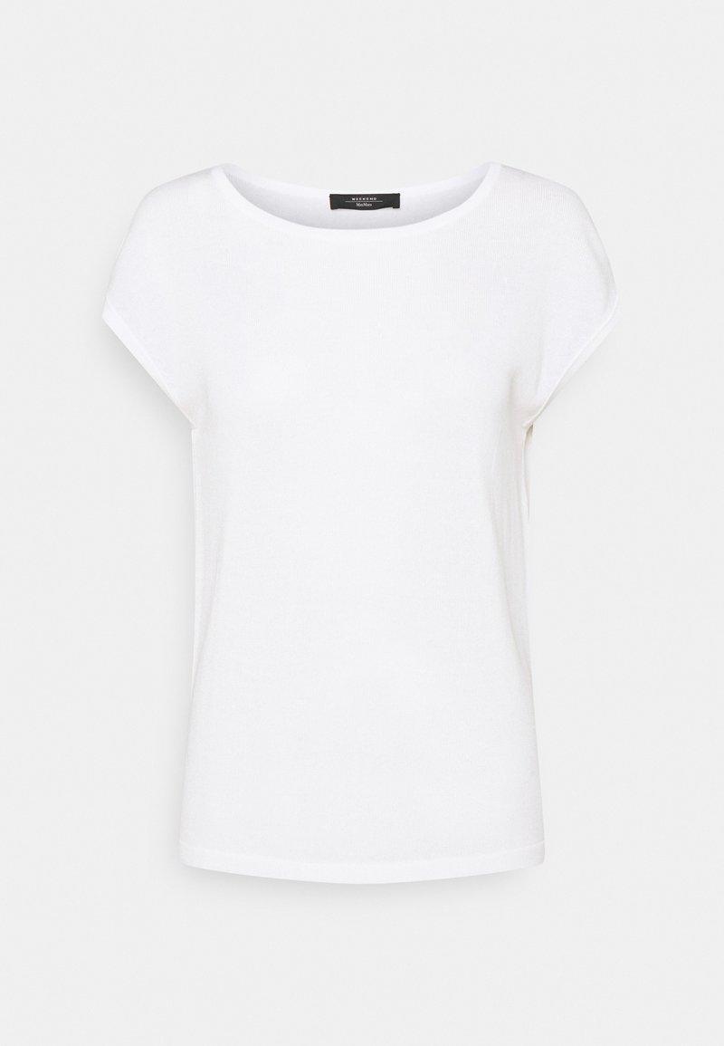 WEEKEND MaxMara - TEAK - T-shirt basic - weiss