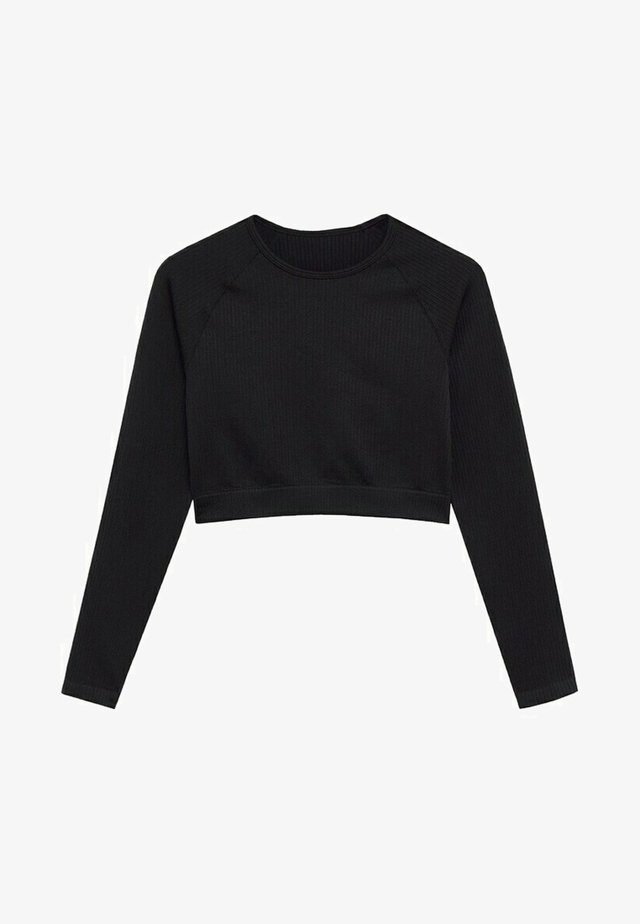 APOLINA - Long sleeved top - zwart