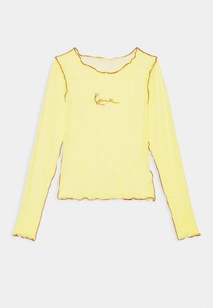 SMALL SIGNATURE - Camiseta de manga larga - lime