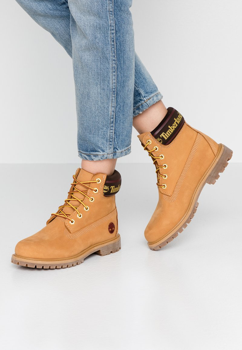 Timberland - 6IN PREMIUM BOOT  - Lace-up ankle boots - wheat