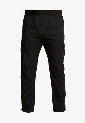 RIPSTOP PANTS  - Cargo trousers - black
