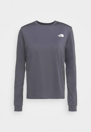 TEE - Topper langermet - vanadis grey