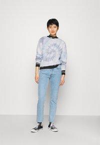 Abercrombie & Fitch - LOGO CREW - Sweatshirt - blue rope wash - 1